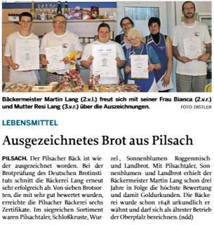 Bäckerei Lang Pilsach